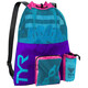 TYR Big Mesh Mummy Backpack 40l purple/blue